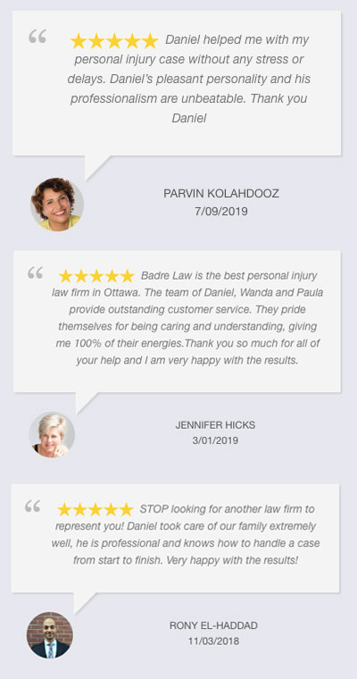 Badre Law Customers Review